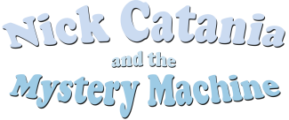 Nick Catania Mystery Machine Logo